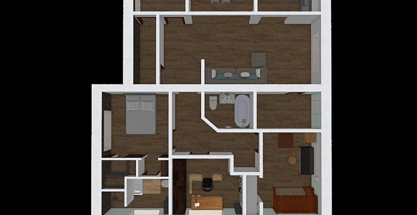 Сп. 130м д8.3 Interior Design Render