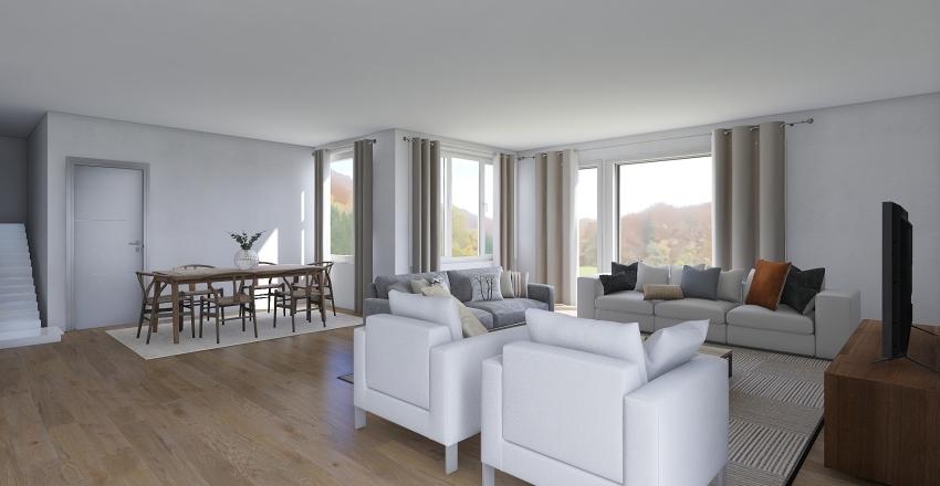 CHALET GATIKA - JON ANDER Interior Design Render