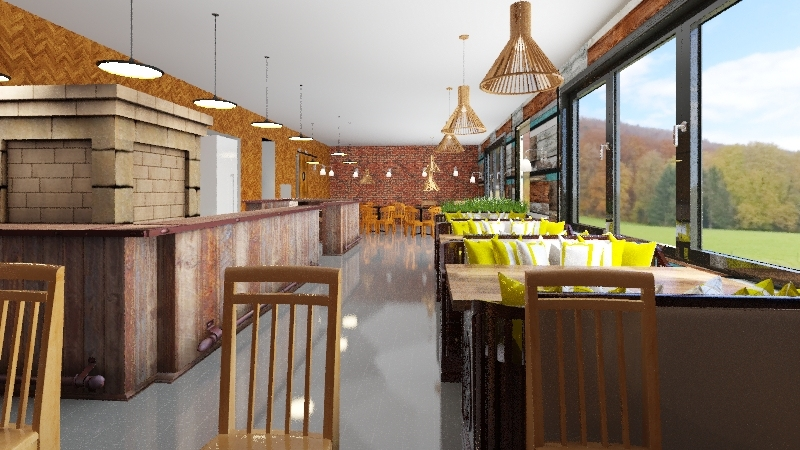 loakl Interior Design Render