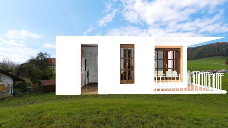 Cabaña Carlos V2 Interior Design Render