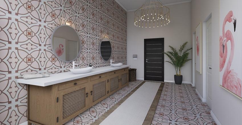 BOSS BABES PLACE  Interior Design Render