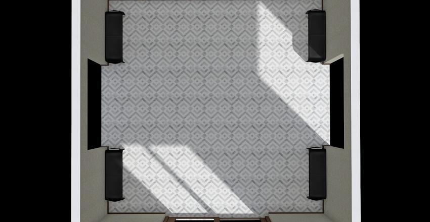 Main Lobby Interior Design Render