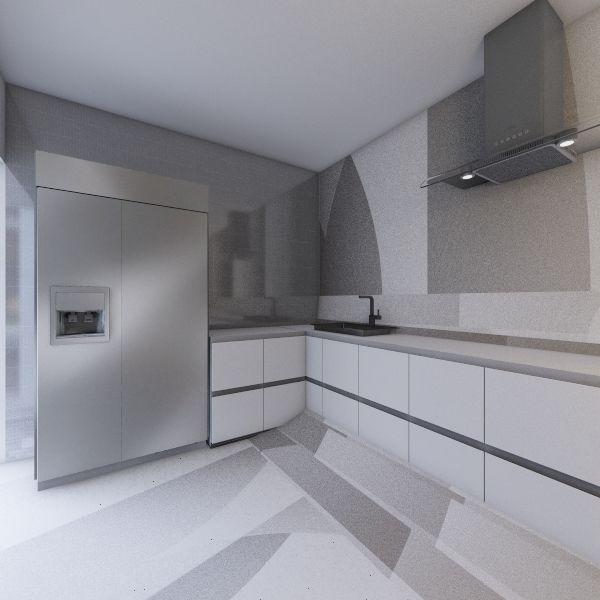 kuchnia Interior Design Render