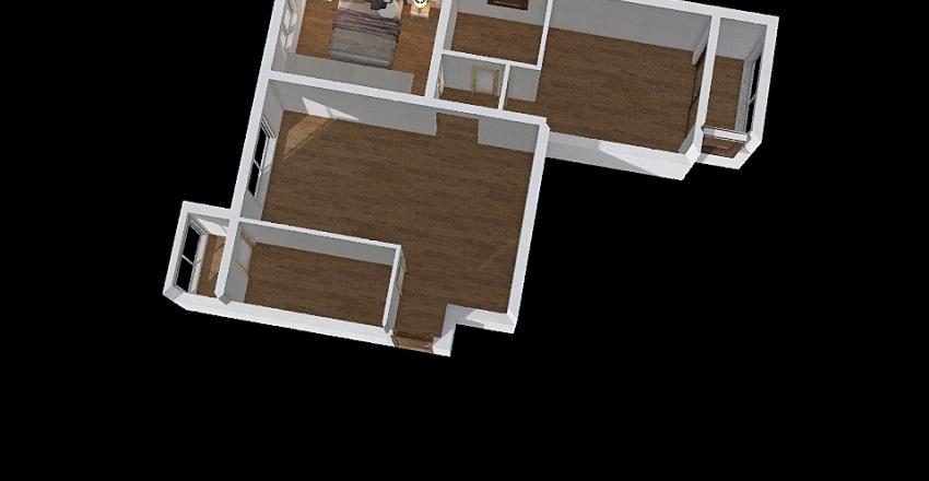 פרויקט 1 Interior Design Render