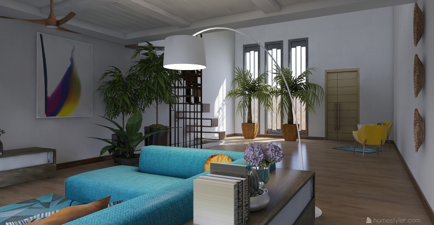 Practica 2 Interior Design Render