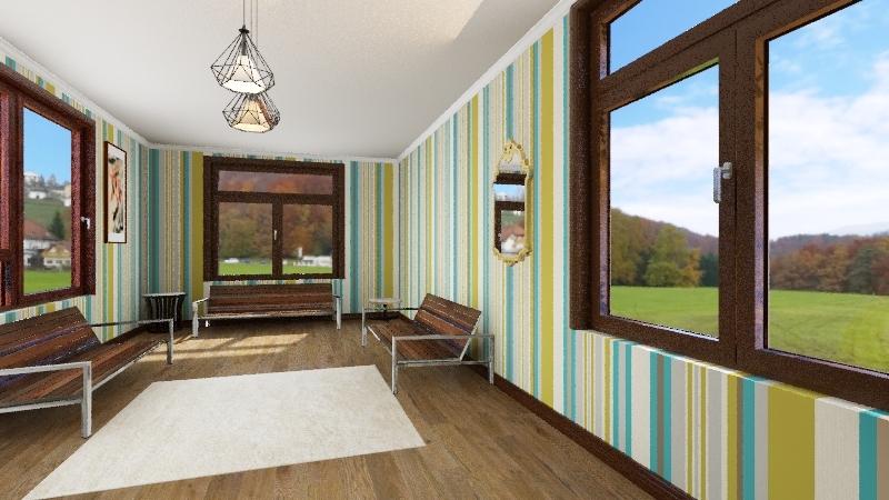 travis room Interior Design Render
