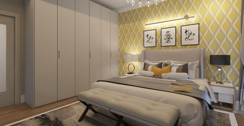 ПОТАПОВО 2 этаж Interior Design Render