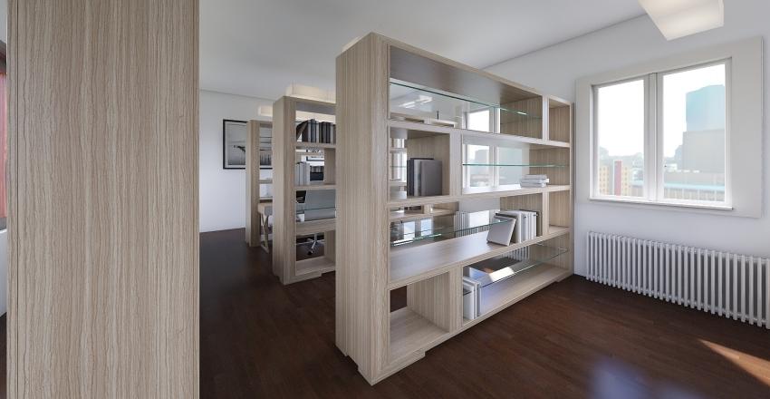 Small School Library - Filip Poljak Interior Design Render