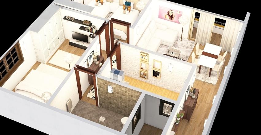 4a2a3 Interior Design Render