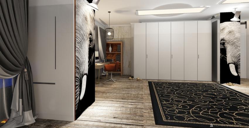 Ilha do Elefante  Interior Design Render