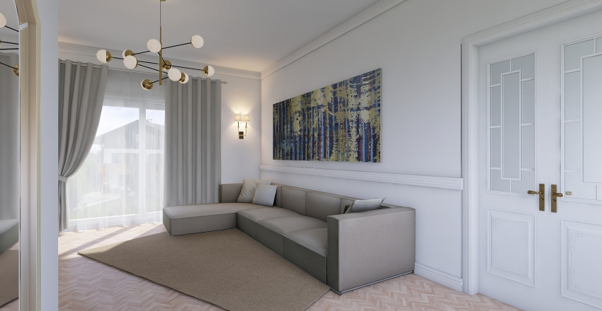 RONCHI Interior Design Render