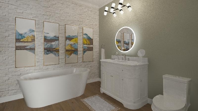 abbys bedroom Interior Design Render