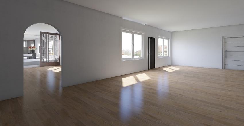 grange house Interior Design Render