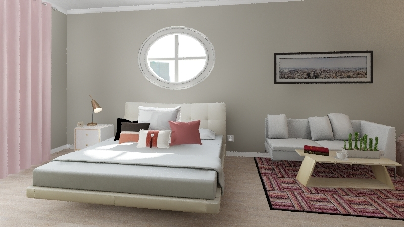 elly's room Interior Design Render