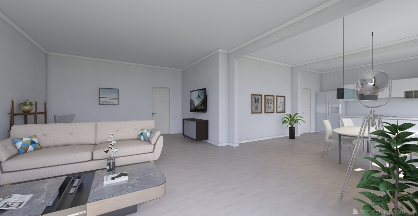 Wohnen-Essen Ulm Safranberg Interior Design Render