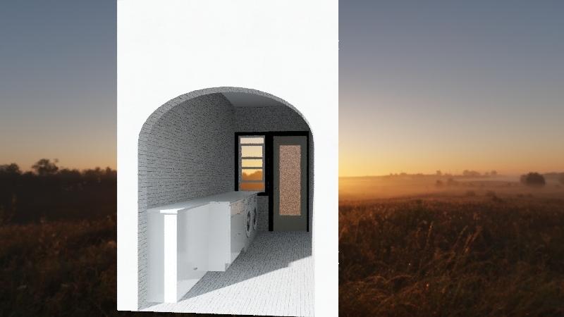 J&J Laundry zone Interior Design Render