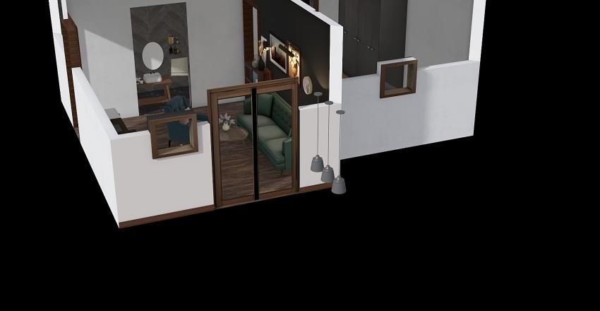 nová verze přístavek Interior Design Render