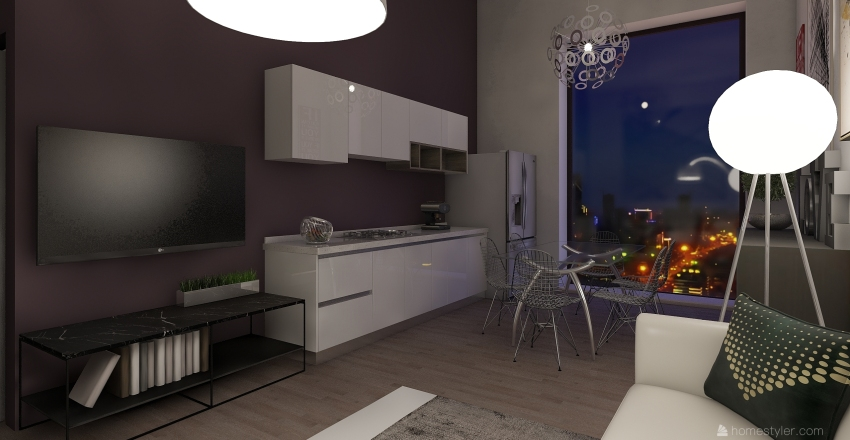 Napione 23 LOFT Interior Design Render