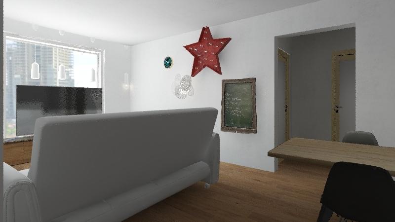 House for3 Interior Design Render