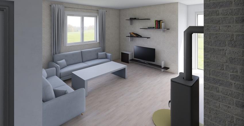 HouseF Interior Design Render