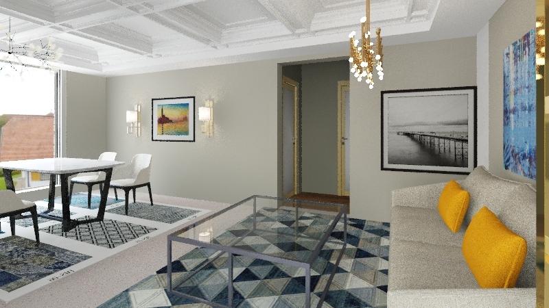 TEM01 Interior Design Render