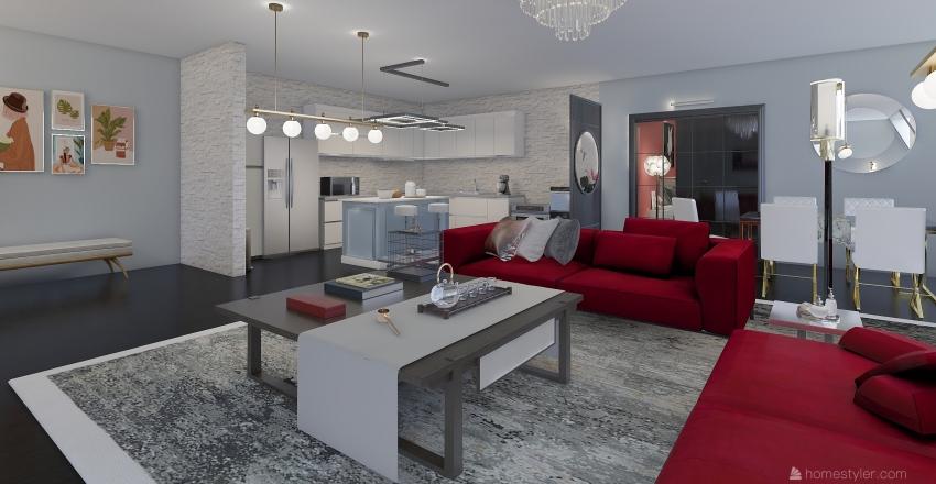 Ellie & Steven Interior Design Render