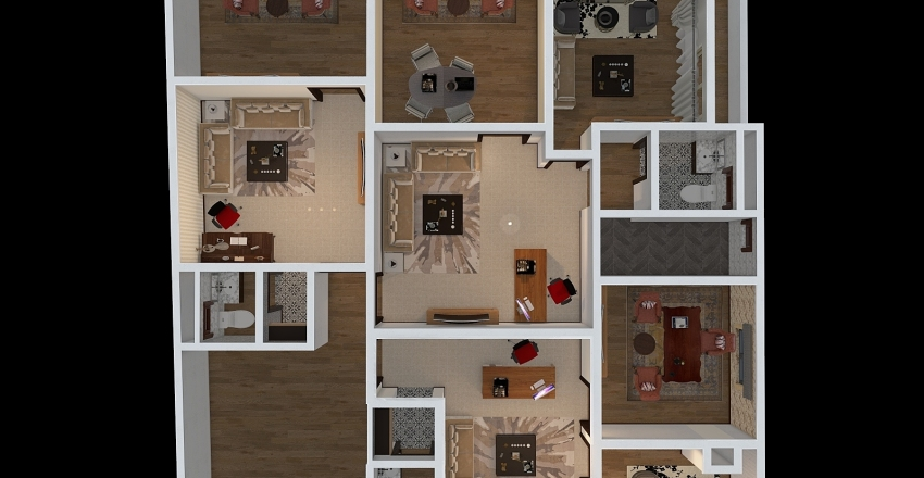 edary el daian Interior Design Render