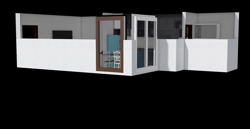 갈산동 주방 Interior Design Render