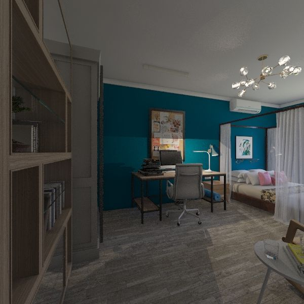 yasenevo room Interior Design Render