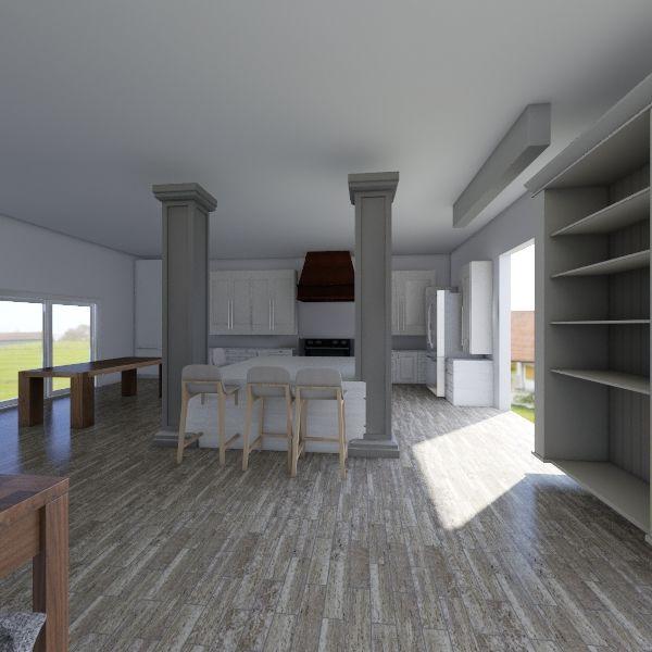 Bayou House Interior Design Render