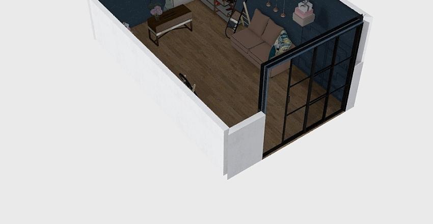магазин обуви Interior Design Render