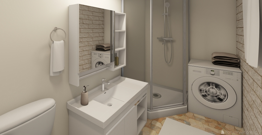 Grang style interior Interior Design Render