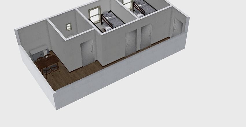 Molins-Cruz temporeros Interior Design Render