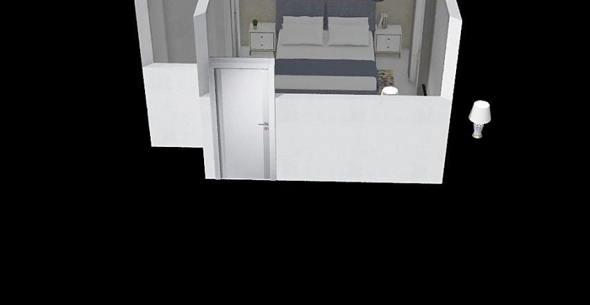 M WRIGHT Interior Design Render