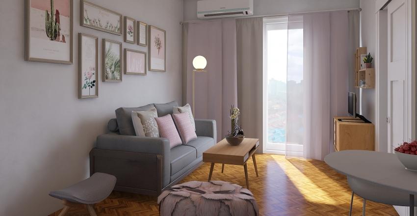 Living_Agustina Interior Design Render