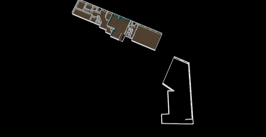 Трифоновская Interior Design Render