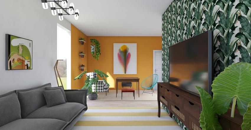 Possível Ap Novo Interior Design Render
