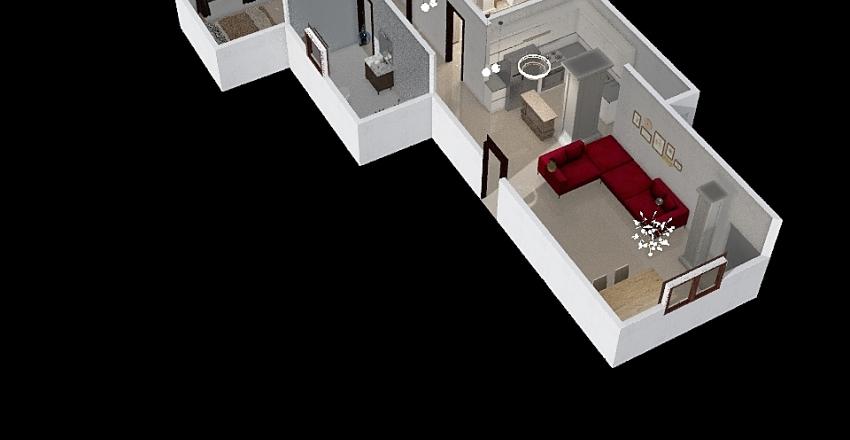 الوفاء والامل Interior Design Render