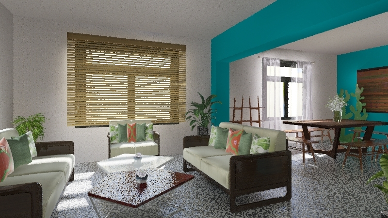 Tortugal design Interior Design Render