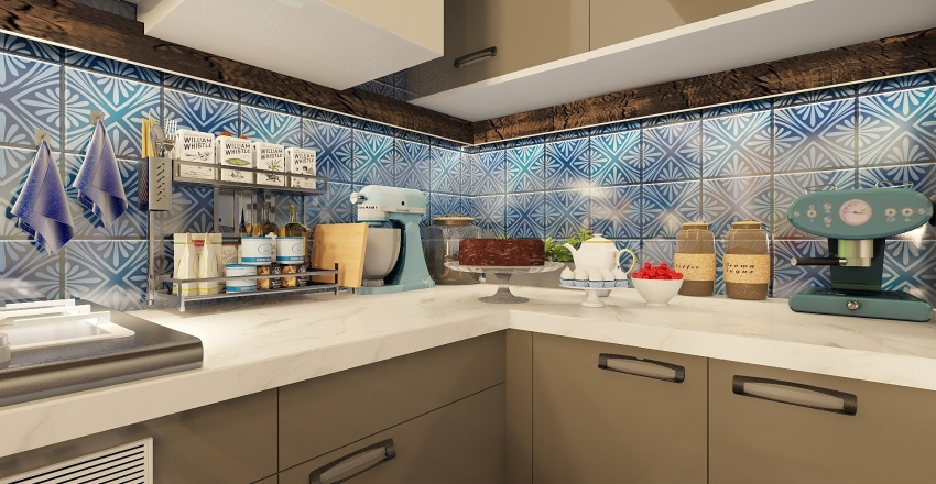 dinnerparty Interior Design Render