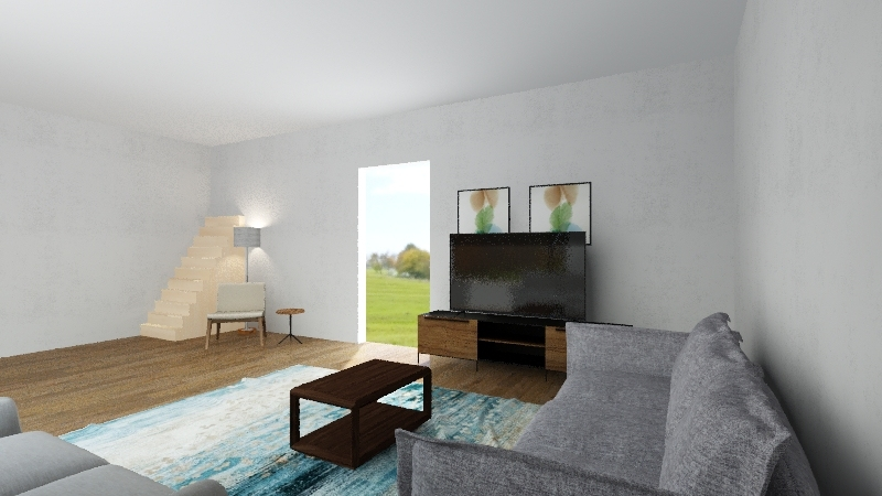 Living room Sandeep Interior Design Render