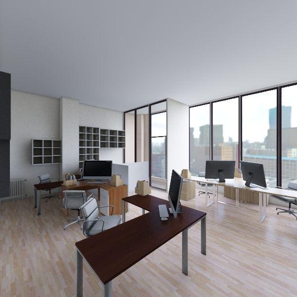 SILVER OFFICE_3 Interior Design Render