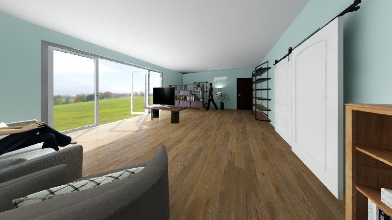 Diego Cattelan Interior Design Render