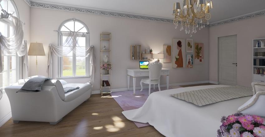 Pink lovers dream room  Interior Design Render