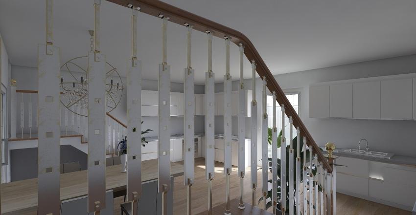 plant house Interior Design Render