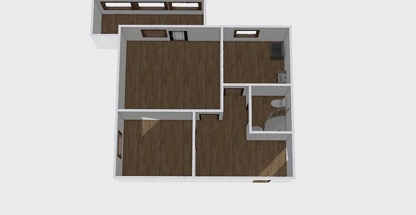 1-комн_0365 Interior Design Render