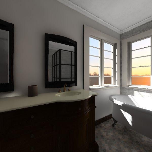 baker bath 2 Interior Design Render