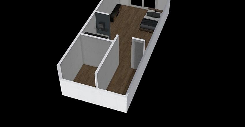 岸山秀行房間 Interior Design Render