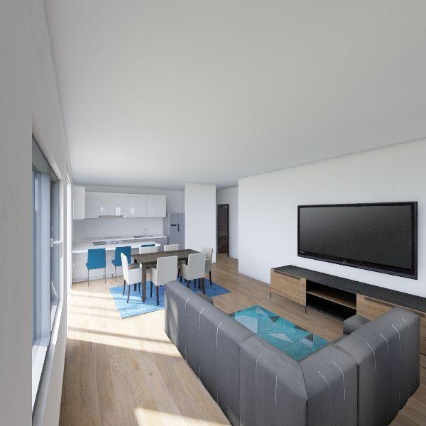 Projeto Nascentes do Paruru Interior Design Render
