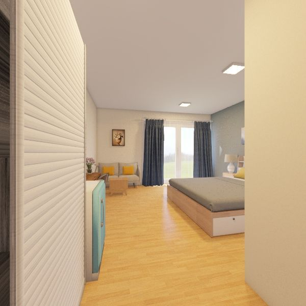 room รายเดือน Interior Design Render